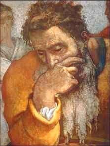 Il Profeta Geremia - Michelangelo